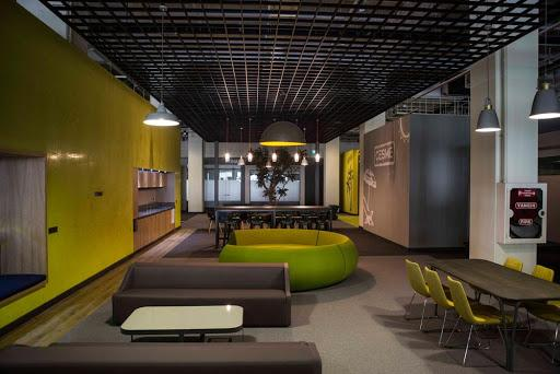 Sandino comfortable and lends dignity to the office and cafe with qual...